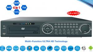China 32ch AHD / TVI / Analog / IP DVR 4-In-1 HD TVI DVR 4*HDD Or 8* HDD Optional on sale