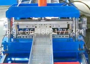 China 100-900 Cable Tray And Tray Cover Combination 2.5mm Metal Roll Forming Machine on sale