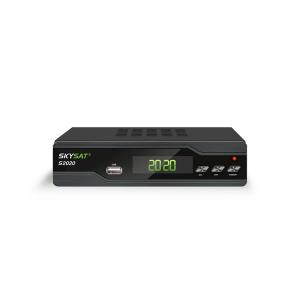 China S2020 Twin Tuner H.265 Satellite Receiver Box , Wifi Support 4K IPTV Android  M3U on sale