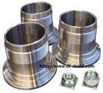 Pièces mécaniques Mechined d'acier inoxydable en aluminium et, haute précision et non normes