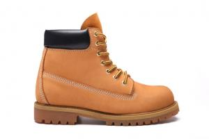 China Nubuck Upper Rubber Sole Shoes For Work , Comfortable Safety Shoes For Men on sale