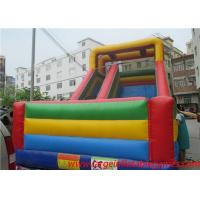 Commercial inflatable slide for kids , giant slide inflatable bouncers for sale