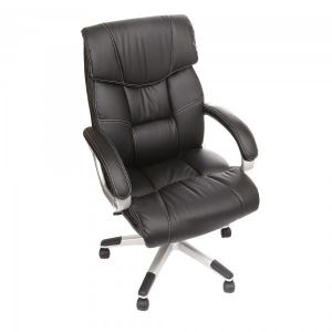 China PU Black China Leather Office Chair on sale