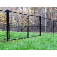 China military galvanized chain link fence (ISO9001;Manufacturer) on sale