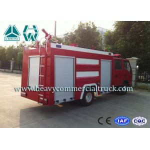 China Economic Special Seat Water Foam Pumper Rescue Fire Truck With Hw Transmission on sale
