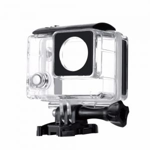 China Go Pro Accessories Waterproof LCD Housing Case For GoPro Hero 3+ 4 Camera on sale