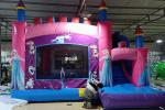 Children Inflatable Jumping Castle High Strength With Double Down Slides