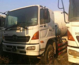 China 2005 Hini 500.700 concrete mixer Truck hino Concrete Mixer 6CBM 8CBM 10CBM on sale