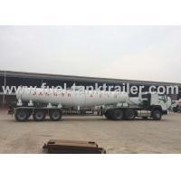 V Shape Chemical Transport Tanks  Air Suspension Good Welding Seam