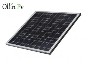 China 12V PV Solar Panels Well - Proportioned Navy Blue Silicon Nitride Anti - Reflection on sale