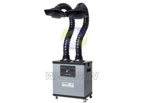 China High Voltage Portable Solder Fume Extractor with Extraction Arms / Brushless Motor on sale