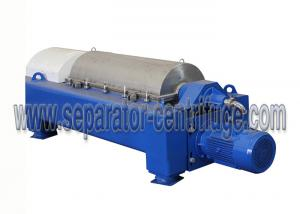 China PLW Series Horizontal Solid Bowl Separator Centrifuge for Barite Separation on sale