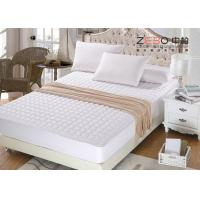 200gsm Waterproof Mattress Pad , Memory Foam Mattress Topper Queen Size