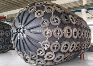 China D3.3m*L6.5m 80 KPa Pneumatic Marine Fender Natural Rubber For Ocean Platforms on sale