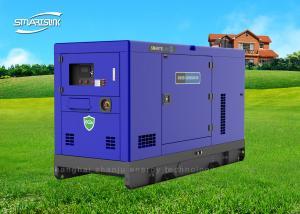 China Sistema de generador diesel portátil industrial del toldo de la refrigeración por agua de los generadores on sale