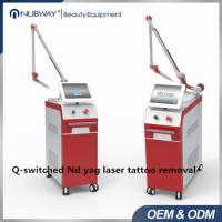 Nubway promotion 80% beauty salon used1064nm 532nm Nd Yag Laser Q Switch tattoo removal Speckle removal  beauty Machine