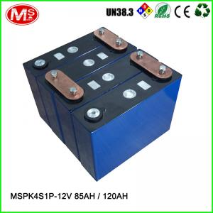 China Deep Cycle Solar Lithium Battery Pack , 12v 100ah Lifepo4 Lithium Battery For Solar Storage on sale
