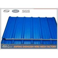 China 1.2M Width 5M Length Steel Corrugated Sheets Galvanized Corrugated Roofing Sheets on sale