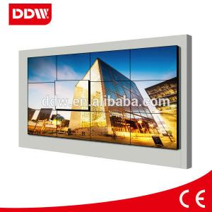 China 6.7mm bezel 46inch 3x4 Lcd Video Wall, samsung lcd panel advertising display on sale