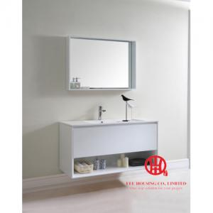 China Modern Wall Hung Vanity / Bathroom Cabinet 750W x 480D x 600H mm- shipping by sea on sale
