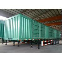 China Four Axle / Tri Axle Tractor Trailer , Semi Van Trailer 45 - 120 Tons Max Payload on sale