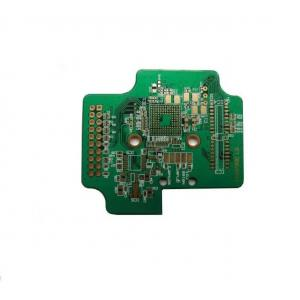 China Gold plating ceramic circuit board pcb prototype fabrication 1.6mm thickness on sale
