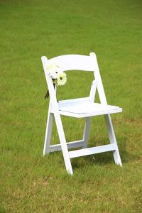 China white outdoor resin wedding chair america style white wimbledon chair for outdoor wedding/rental on sale