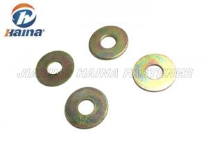 China Carbon Steel Flat Washers Yellow Zinc Plated M8 M10 A Type Gr4 / G8 For Automobile on sale