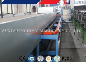 China Rock Glass Wool Foam Roof Sandwich Panel Roll Forming Machine on sale