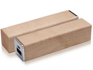 China ECO power bank  New products promotional items 2600mah wooden power bank on sale