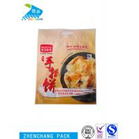 Three Side Sealing Food Grade Zip Lock Bags Safety Custom Printed Kitchen Use