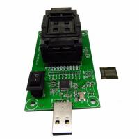 Clamshell Structure eMCP221 Reader to USB, for BGA 221 testing, size 11.5x13mm, nand flash programmer