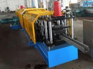 China High Efficient Storage Shelf Rack Roll Forming Machine 8 - 10m / min Producing Speed on sale