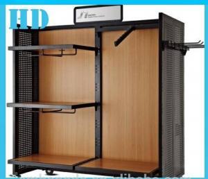China MDF de madera reciclable del gabinete de los soportes de exhibición para la exhibición de la ropa on sale