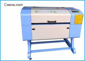 China Small Tube Mini Laser Cutting Machine For Nonmetal AC 220V / 110V 60w / 80w on sale