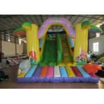 Commercial Inflatable standard simple dry slide PVC hot sale single inflatable dry slide for children