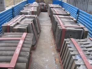 Quality Steel Casting Ball Mill Liners for sale