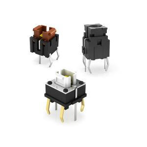 China High Quality Built into LED Tact Switch Momentary Illuminated LED Tactile Button Switches on sale