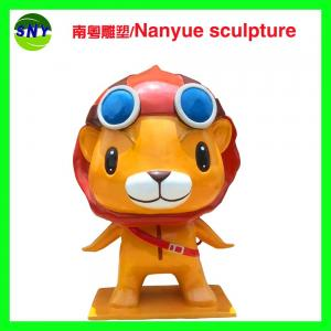 China cartoon character  famous statue in customize size by fiberglass for exhibition display model on sale