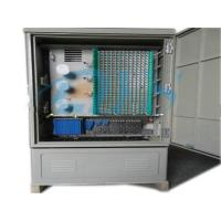 China 144C to 576C Fiber Optic Cross Cabinet on sale