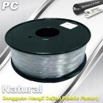 Good Transmission of Light PC 3D Printer Transparent Filament 1.75mm / 3.0mm