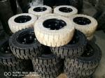 forklift tires 10-28 with low speeding high pressure performance long operating life good riding safety and wear