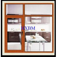 Double Layer Aluminium Windows And Doors For Commercial Buildings Hollow Glass