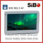 Power Over Ethernet POE Android Tablet 7 Inch In-wall On-wall On-glass Multiple Mounting Method