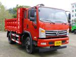 Euro V Dongfeng 4x2 Middle Duty Dump Truck EQ3180G For Peru