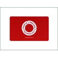 China Electronic Contactless Payment Card / Red Custom Printed RFID Cards on sale