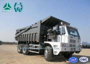 China 70 Ton Left Hand Driving 6 X 4 Howo Mine Dump Truck 8460*3200*3475 on sale