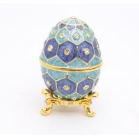 Easter Egg Gift Box Metal Easter Egg Gift Box Pewter Easter Egg Gift Box