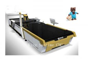 China Plush Toys Material Cutter Garment Cutting Machine Computerized Control on sale