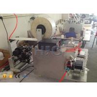 Egg Box Semi Semi Automatic Labeler , Label Applicator Machine For Boxes